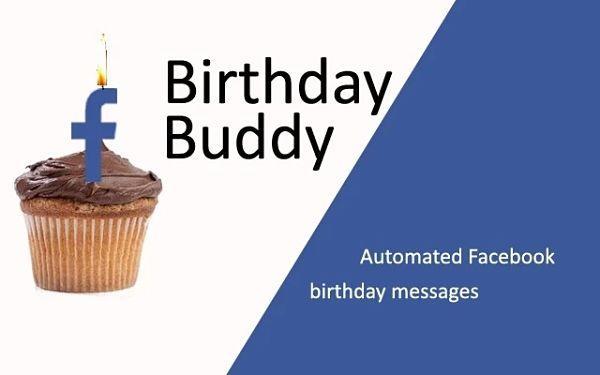 Birthday Buddy: Felicitaciones de cumpleaños automáticamente para tus amigos en Facebook