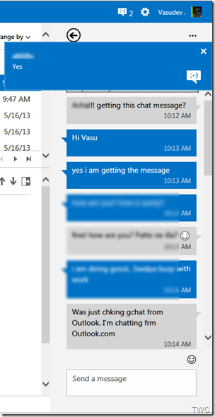 Configurando Chat en Outlook.com 6