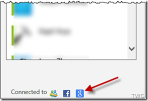 Google chat en SkyDrive 1