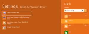 Cómo crear un disco de recuperación con Windows 8
