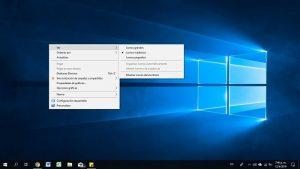 Cómo editar el menú contextual de Windows 10