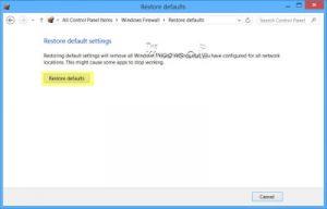 Restaurar Firewall de Windows a los valores predeterminados-2