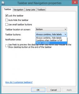 Cambie la forma de ver la barra de tareas en Windows 8.1-3