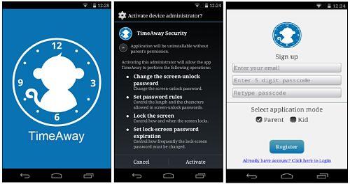 TimeAway: Control Parental Android Para Manejar el Dispositivo de Tus Hijos