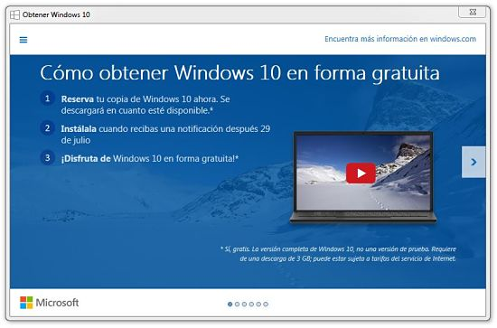 Reservar copia de Windows 10 gratis