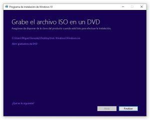 Descargar Windows 10 en Español gratis y crear disco de instalación o USB booteable