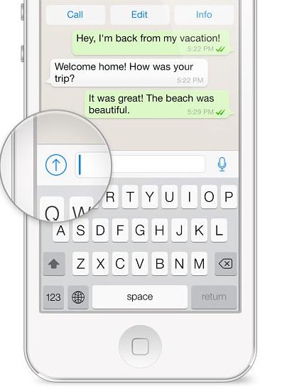 Tips y trucos de WhatsApp: compartir unicación en iPhone