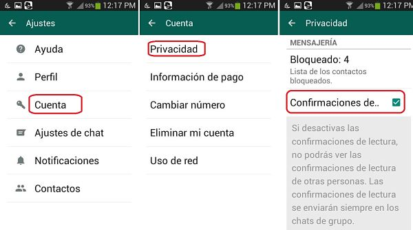 Tips y trucos de WhatsApp: eliminar doble chequeo azul