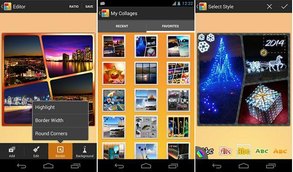 KD Collage, una de las mejoras apps para hacer collage de fotos en Android