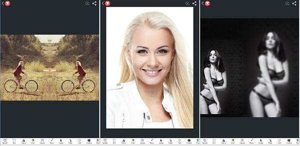 Lidow: layout snap mirror grid, de las mejores aplicaciones para editar fotos android