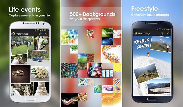 Photo Collage una de las mejores apps para hacer hermosos collages de fotos en Android