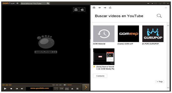 GOM Player es uno de los mejores reproductores de video