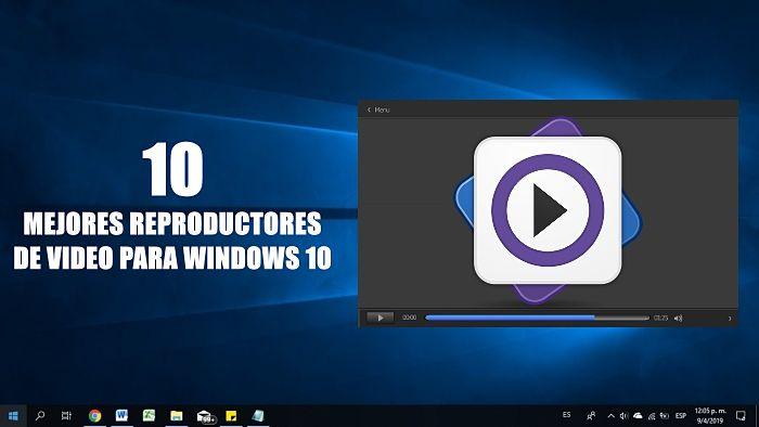 10 mejores reproductores de video gratis para Windows 10 en 2020