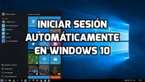 Cómo iniciar sesión automáticamente en Windows 10