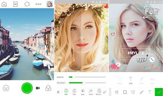Las 8 mejores aplicaciones para tomar fotos selfies perfectas en Android