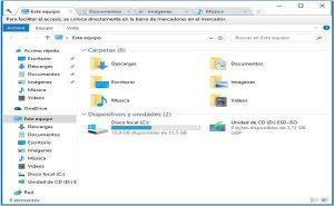 Cómo agregar pestañas al Explorador de Windows 10 con Clover