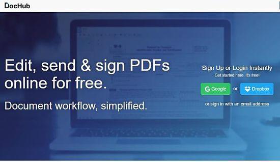 DocHub: uno de los mejores servicios para editar archivos PDF online