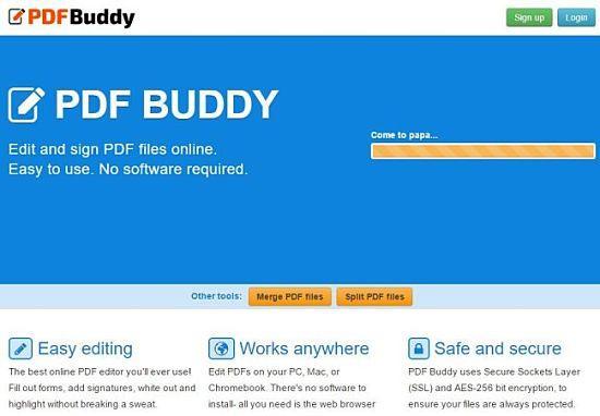 Mejores servicios o herramientas para editar archivos PDF online
