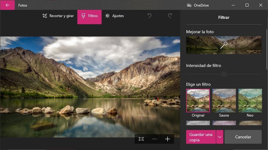 Cómo mejorar tus fotos con la aplicación Fotos de Windows 10