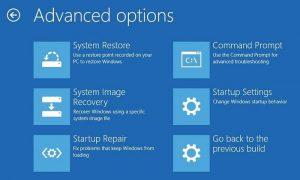 Cómo acceder al Símbolo del sistema sin iniciar Windows 10 al escritorio