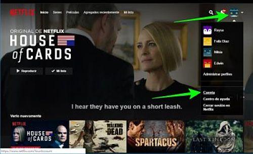 Cómo darle de baja a tu suscripción o cancelar una cuenta de Netflix