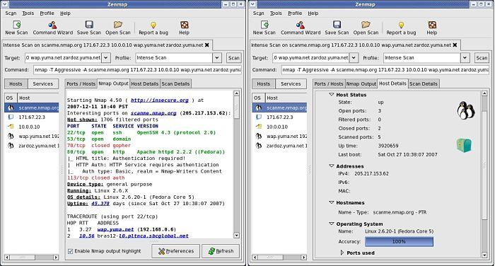 Zenmap: Un software administrador de red gratuito