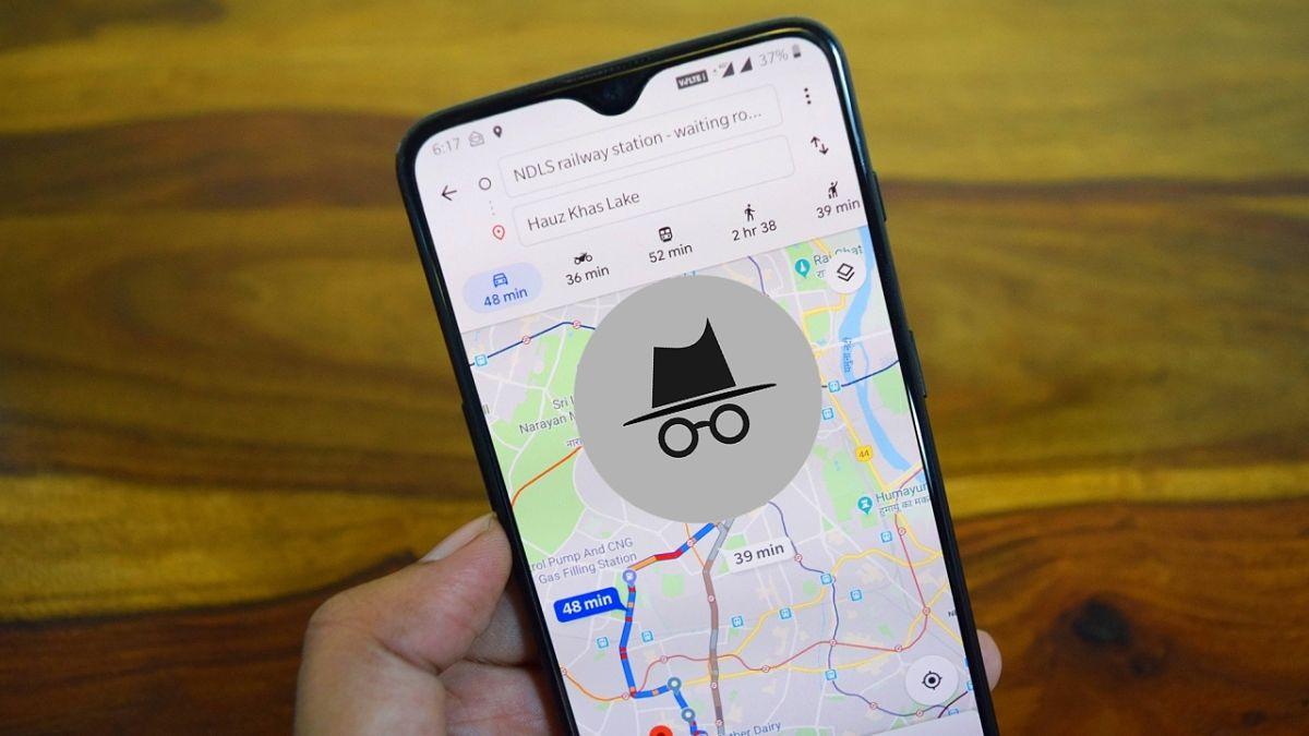 Cómo activar y usar el modo incógnito de Google Maps