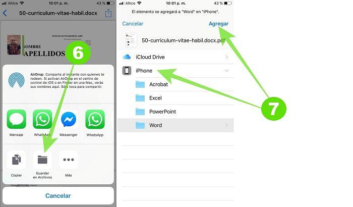 Truco para crear archivos PDF en tu iPhone u otros dispositivos iOS