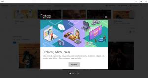 Editar fotos y vídeos en Windows 10 con el visor Fotos