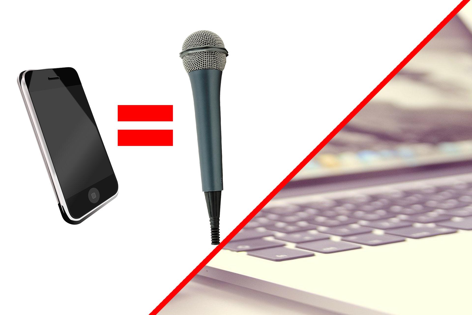 Cómo usar tu teléfono como un micrófono para tu computadora